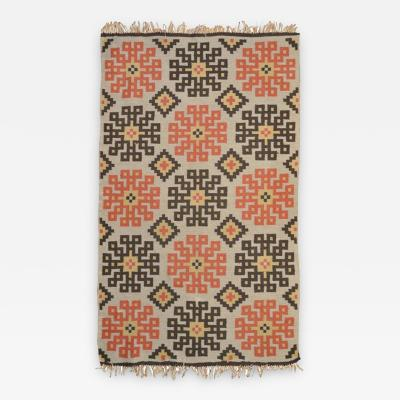 Snowflake Kilim Northern Europe 1950s