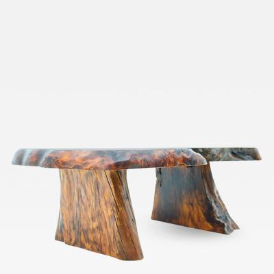 Solid Root Wood Coffee Table 1960s
