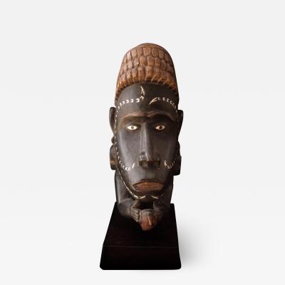 Solomon Island Carved Canoe Prowl Figure