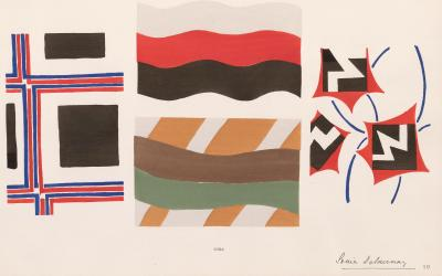 Sonia Delaunay Design Print