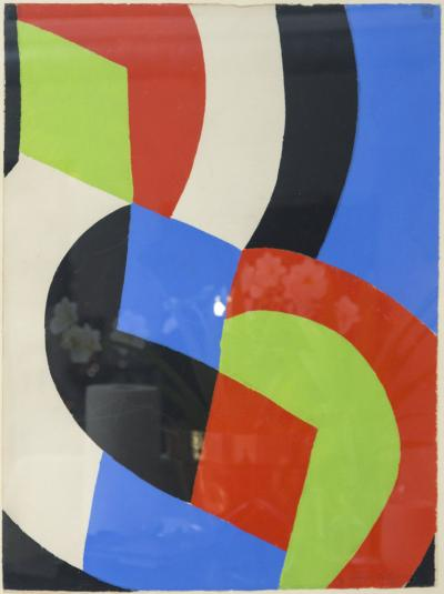 Sonia Delaunay Sonia Delaunay signed lithograph