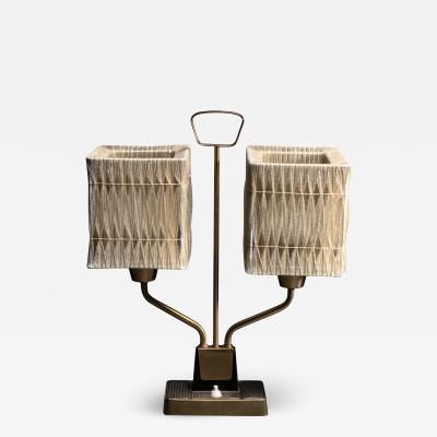 Sonja Katzin Sonja Katzin brass and rope table table lamp for ASEA