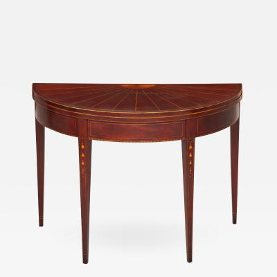 Southern Demilune Card Table