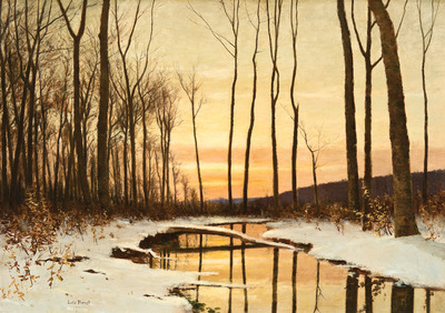 Lockwood De Forest Winter Twilight