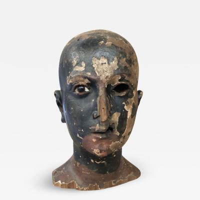 Spanish 18th Century Saints Head Fragment