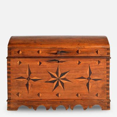 Spanish Dowry Dome Top Trunk 18th 19th Century