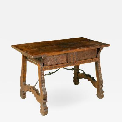Spanish Walnut Table Circa 1630