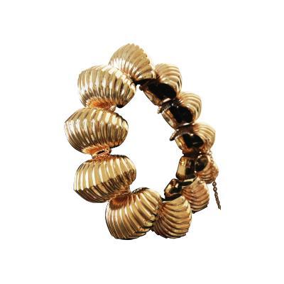 Spectacular Balloon Gold Bracelet 14K