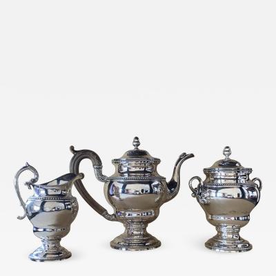 Spectacular Philadelphia Three Piece Tea Set by Curry Preston