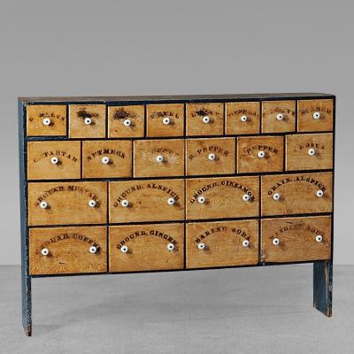 Spice Cabinet c 1840 60