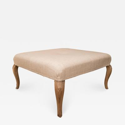 Square French Ottoman