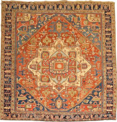 Square Heriz Rug rug no j1899