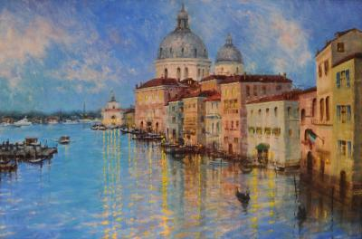 Stacy M Barter Evening Comes to Venice