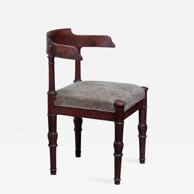 Stained beech side chair Denmark