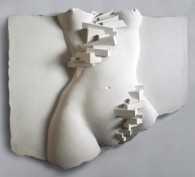 Staircase Descending A Nude Fragment Large