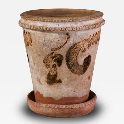 Stamped Samuel Bell Son Flower Pot