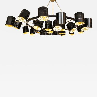 Stan Usel Contemporary Chandeliers circular by Stan Usel