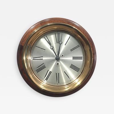 Starr Brass Mfg Co Boston Clock with Starr Brass Case