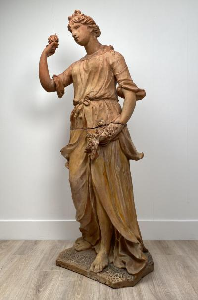 Statue of Flora Italy 18th Century and Later