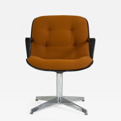 Steelcase Co Steelcase Side Chair in Orange