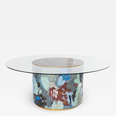 Stefan Rurak Stefan Rurak Concrete and Steel Dining Table No 2 USA