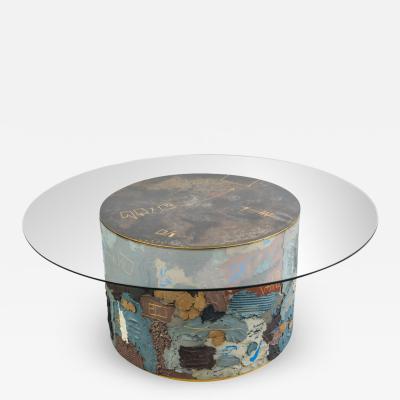 Stefan Rurak Stefan Rurak Concrete and Steel Dining Table USA