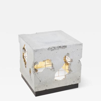 Stefan Rurak Studio Cracked Side Table