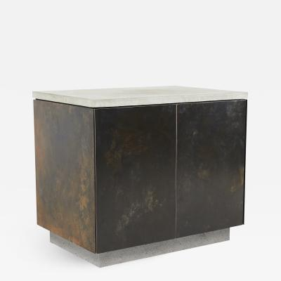 Stefan Rurak Studio S O Side Table with Cabinet Doors