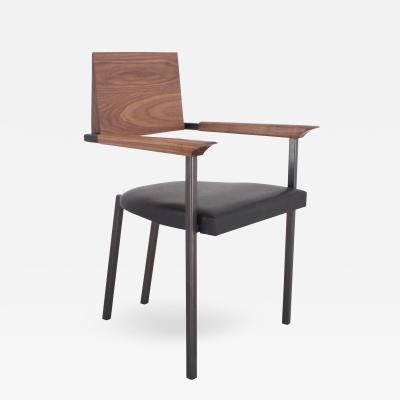 Stefan Rurak Studio Steel Chair Upholstered