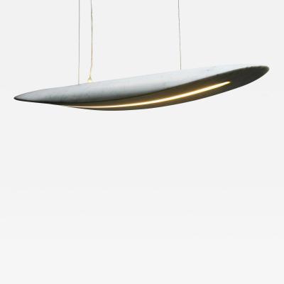 Stefano Rubertelli for Matlight Italian Organic Modern White Carrara Chandelier