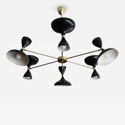 Stellar Union Milano Six Arm Chandelier