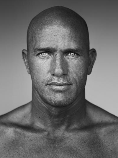 Stephan Vanfleteren Large Photo Portrait Kelly Slater by Stephan Vanfleteren