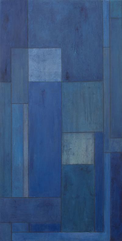 Stephen Cimini Mid Century Modern Oil Painting