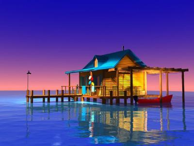 Stephen Harlan Coquina Bay by Stephen Harlan