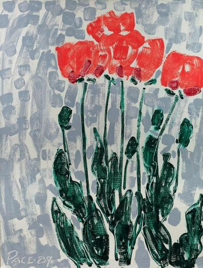 Stephen S Pace Poppies I 89 1