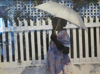 Stephen Scott Young White Umbrella