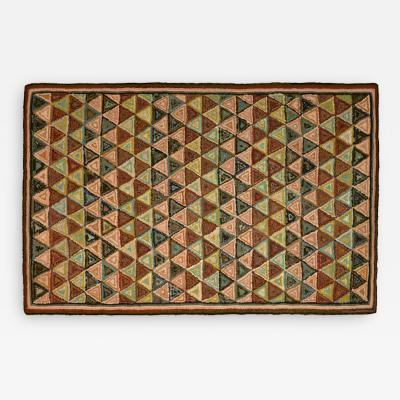 Stephen T Anderson Modern Hooked Rug by Stephen T Anderson