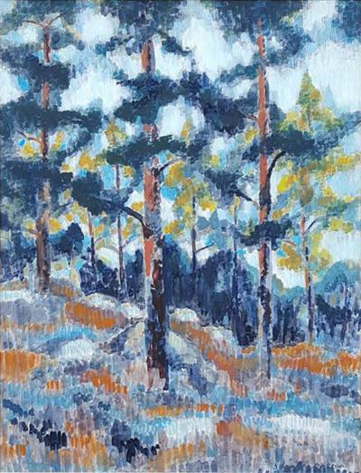 Stephen Thomas Rascoe Stephen Thomas Rascoe Abstract Landscape Forest