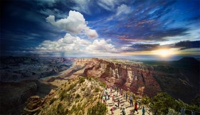 Stephen Wilkes Grand Canyon National Park Arizona 2015