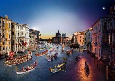 Stephen Wilkes Regata Storica Venice 2015