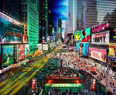 Stephen Wilkes Times Square NYC 2010