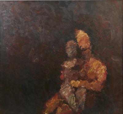 Stevan Kissel Stevan Kissel Oil Painting Mother and Child
