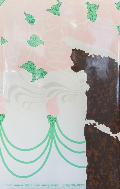 Steve Frykholm Herman Miller Summer Picnic Chocolate Cake Poster