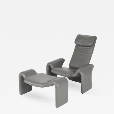 Steve Leonard Lounge Chair and Ottoman by Steve Leonard