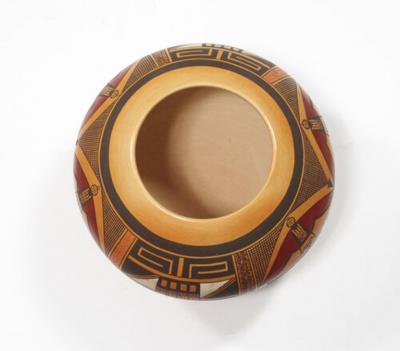Steve Lucas Hopi polychrome jar by Steve Lucas