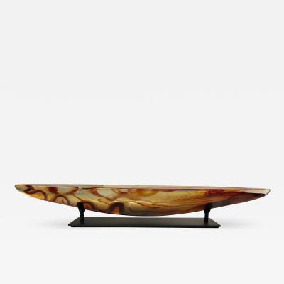 Steven Maslach Long Boat Amber