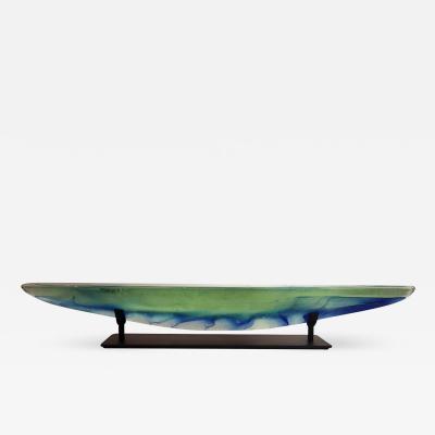 Steven Maslach Long Boat Green