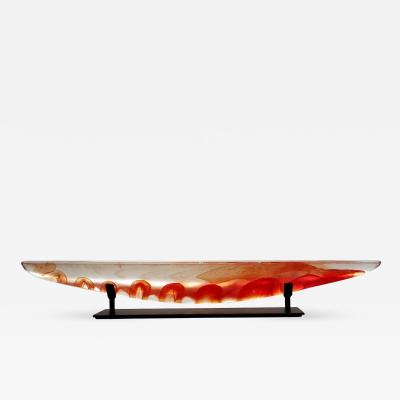 Steven Maslach Long Boat Red