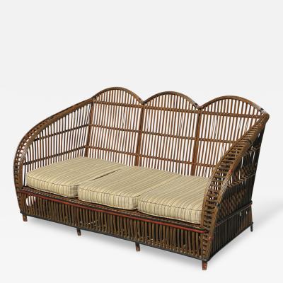 Stick Wicker Sofa