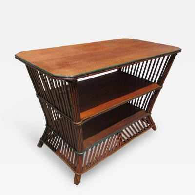 Stick Wicker Table